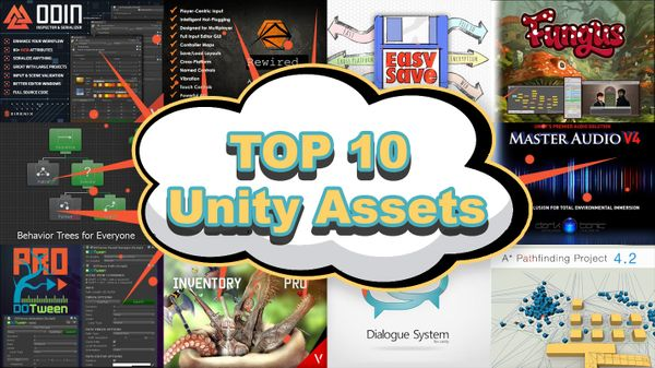 Top 10 Unity Assets